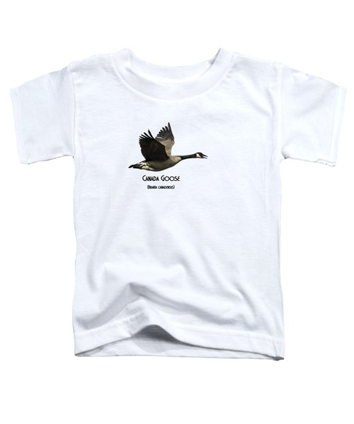 Isolated Canada Goose 2015-1 Toddler T-Shirt by Thomas Young