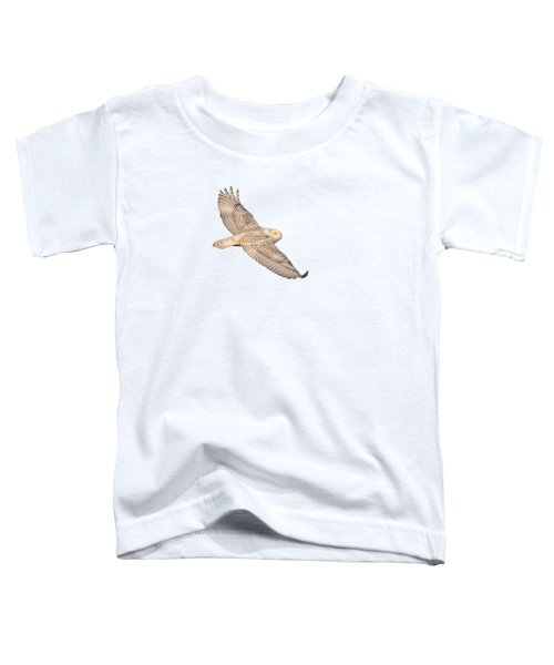 Isolated Snowy Owl 2018-1 Toddler T-Shirt