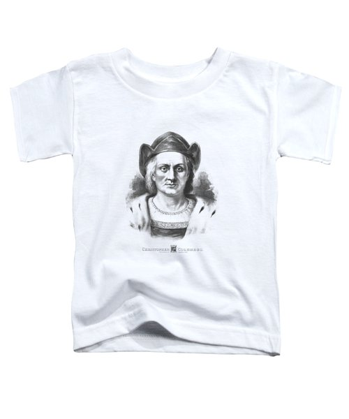 Italian Explorer Christopher Columbus Toddler T-Shirt