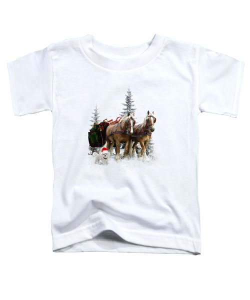A Christmas Wish Toddler T-Shirt by Shanina Conway