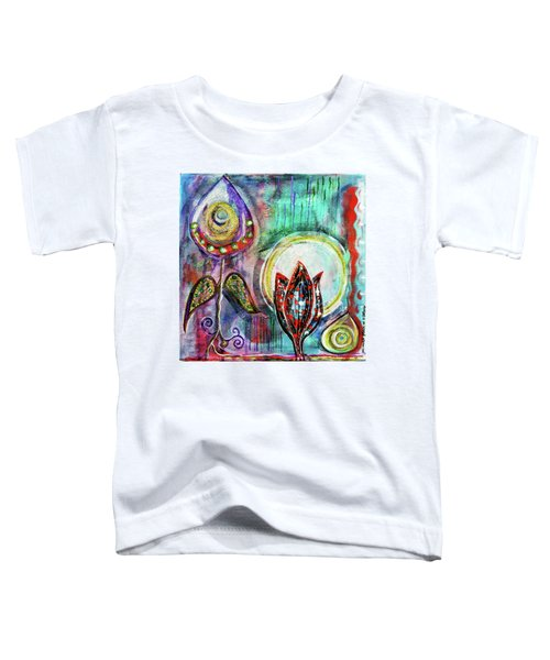 It's Connected To The Moon Toddler T-Shirt