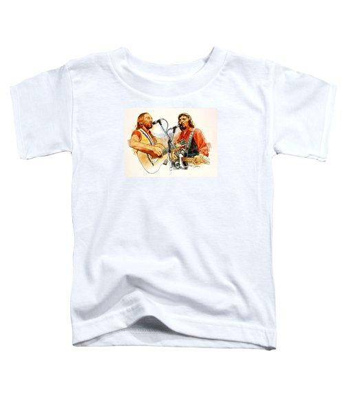 Its Country - 7  Waylon Jennings Willie Nelson Toddler T-Shirt