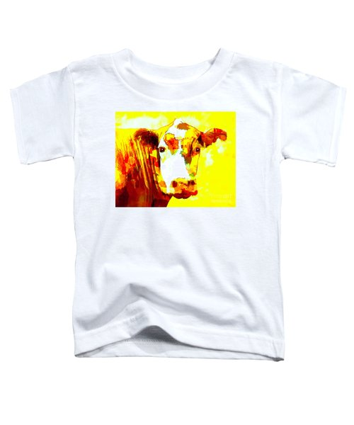 Yellow Cow Toddler T-Shirt