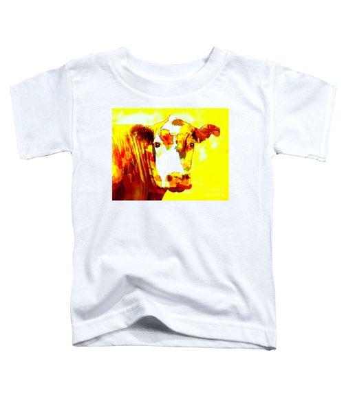 Yellow Cow Toddler T-Shirt