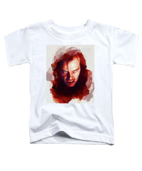 Jack Nicholson, The Shining Toddler T-Shirt