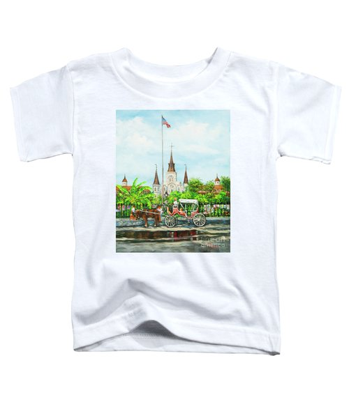 Jackson Square Carriage Toddler T-Shirt