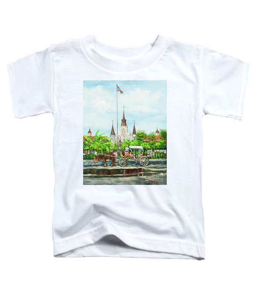 Jackson Square Carriage Toddler T-Shirt