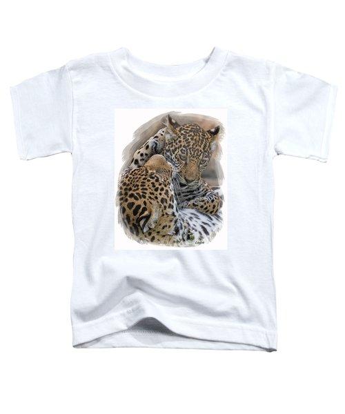 Jaguar Mother And Cub 4 Toddler T-Shirt