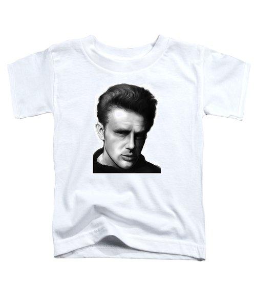 James Dean Toddler T-Shirt by Greg Joens