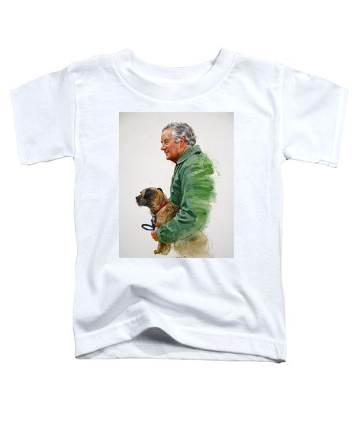James Herriot And Bodie Toddler T-Shirt