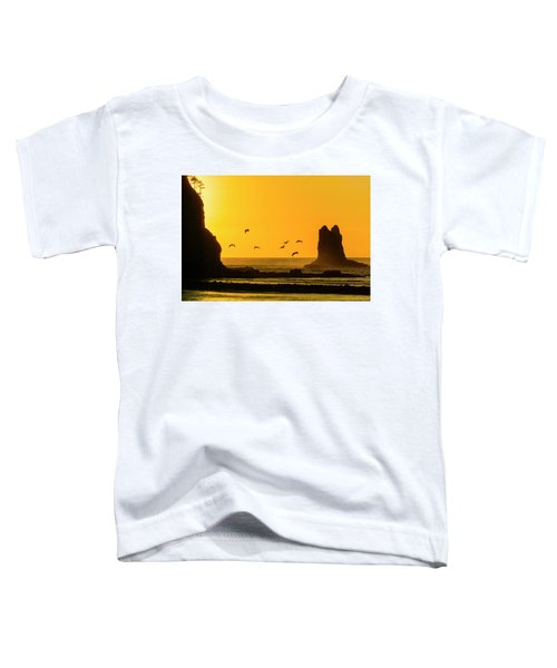 James Island And Pelicans Toddler T-Shirt
