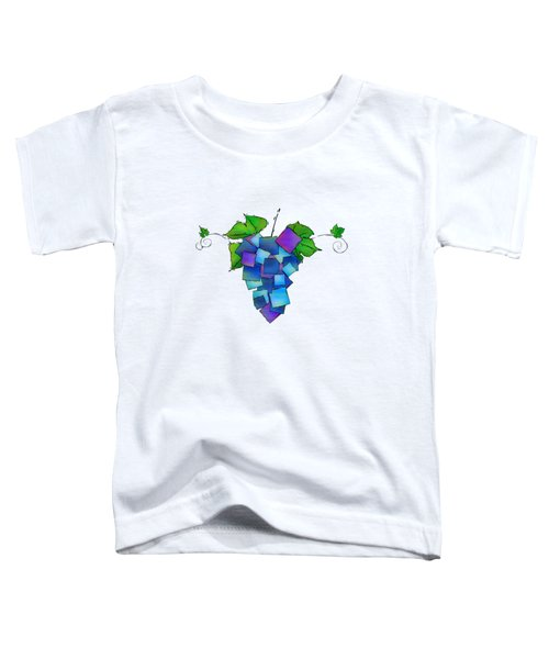 Jamurissa - Square Grapes Toddler T-Shirt by Cersatti