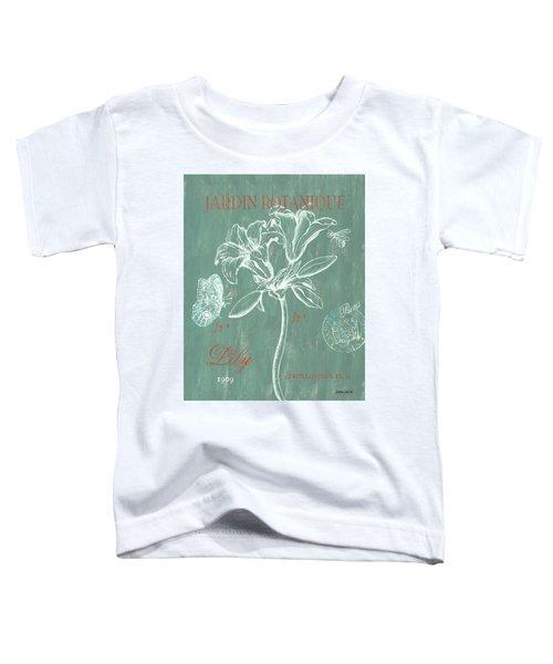 Jardin Botanique Aqua Toddler T-Shirt