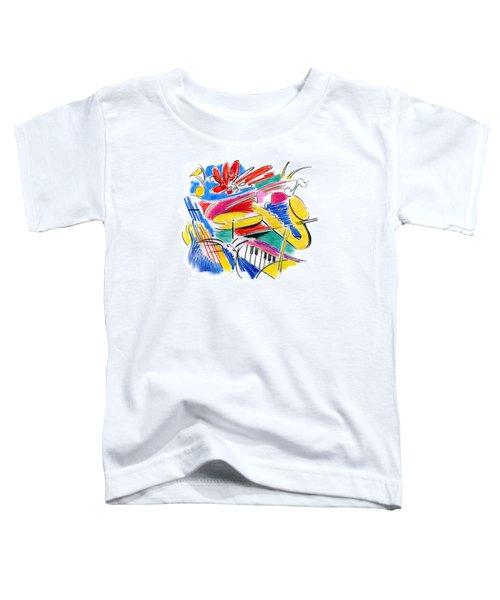 Jazz Art Toddler T-Shirt