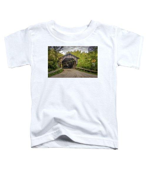 Jeffersonville Covered Bridge Toddler T-Shirt