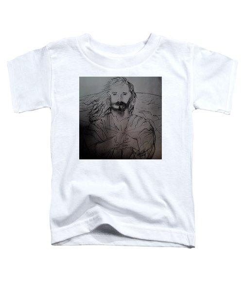 Jesus Light Of The World Full Toddler T-Shirt