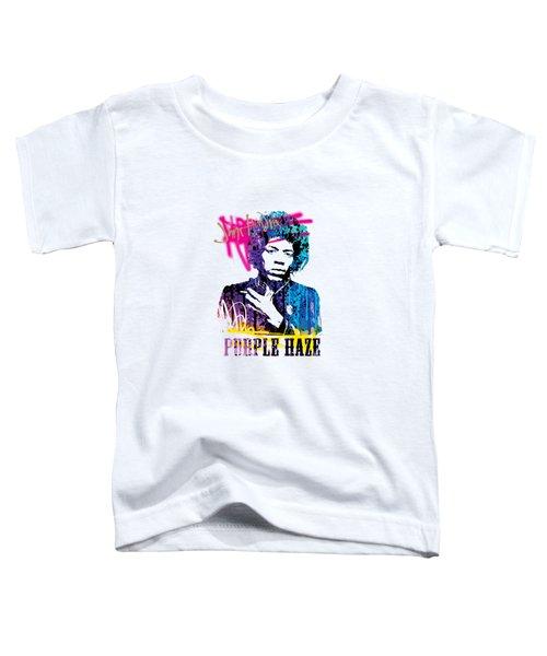 Jimi- Purple Haze Toddler T-Shirt