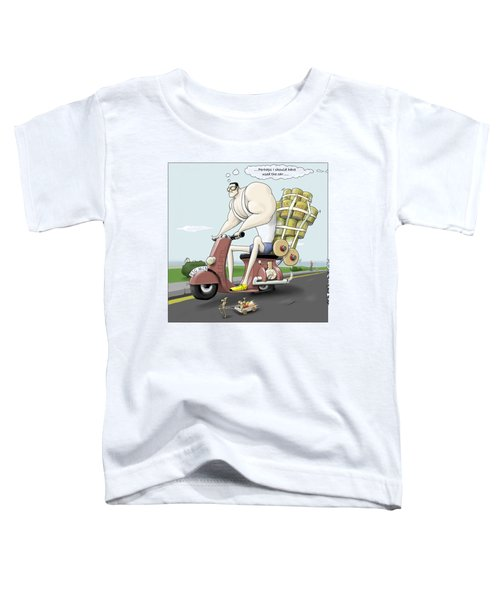 Jim's Shopping Trip Toddler T-Shirt