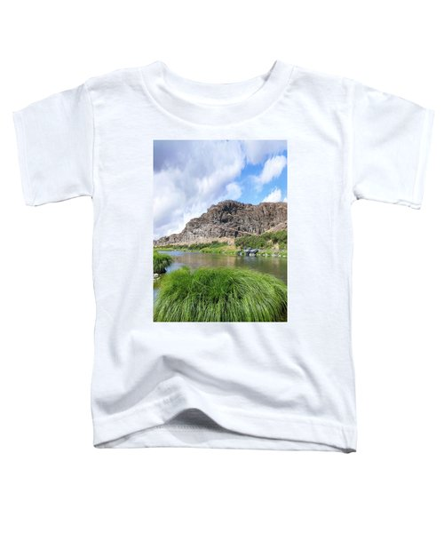 John Day River Landscape In Summer Portrait Toddler T-Shirt
