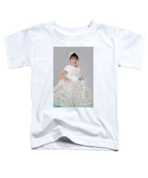 Josette In Dryer Sheet Dress Toddler T-Shirt