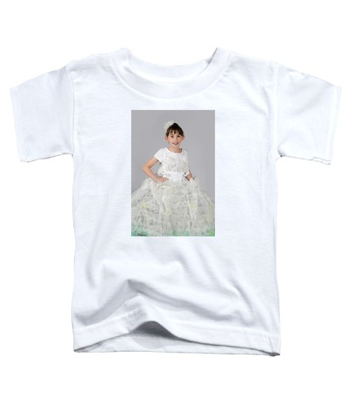 Josette In Dryer Sheet Dress Toddler T-Shirt