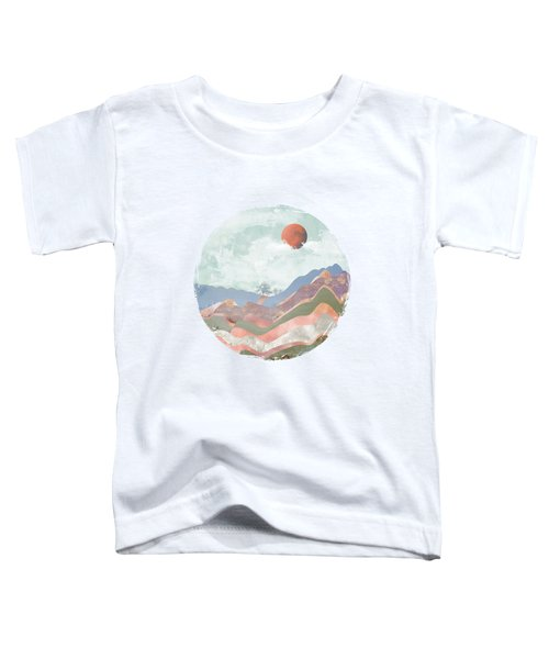 Journey To The Clouds Toddler T-Shirt by Katherine Smit