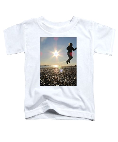 Jumping In The Sun Toddler T-Shirt