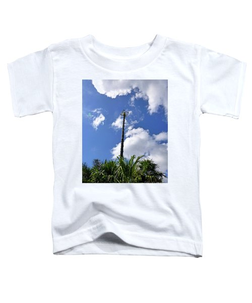 Toddler T-Shirt featuring the photograph Jungle Bungee Tower by Francesca Mackenney