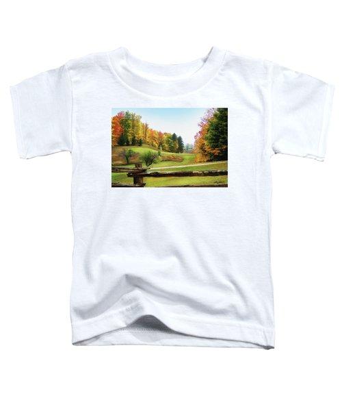 Just Over The Next Ridge Toddler T-Shirt