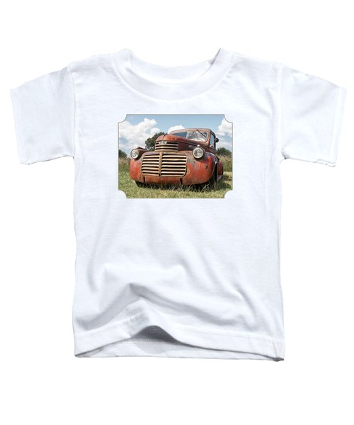 Just Resting - Vintage Gmc Truck Toddler T-Shirt