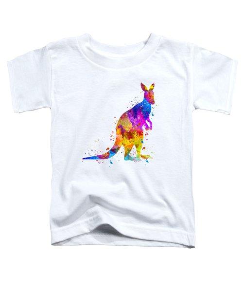 Kangaroo Art Toddler T-Shirt