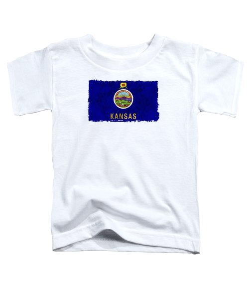 Kansas Flag Toddler T-Shirt