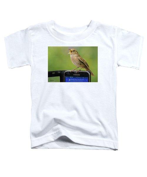 Karaoke Wren Toddler T-Shirt