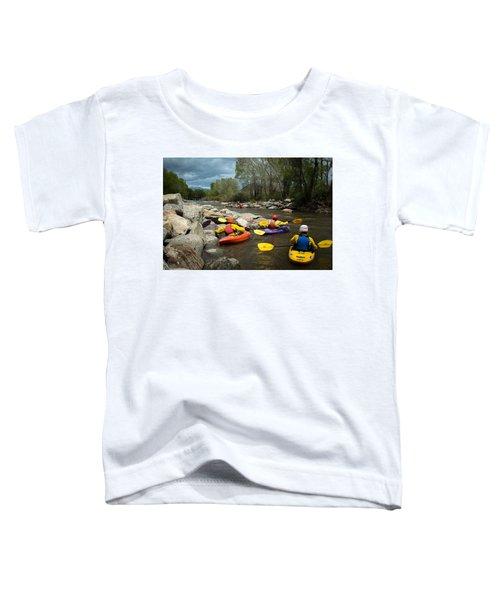 Kayaking Class Toddler T-Shirt