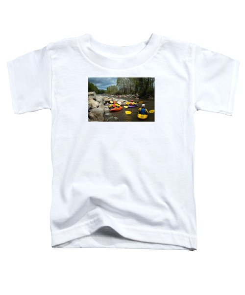 Kayaking Class Toddler T-Shirt