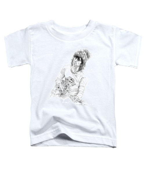 Keith Richards Exile Toddler T-Shirt