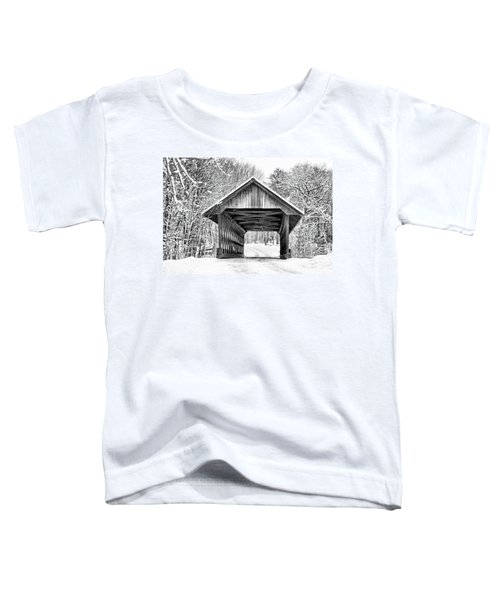 Keniston Covered Bridge  Toddler T-Shirt