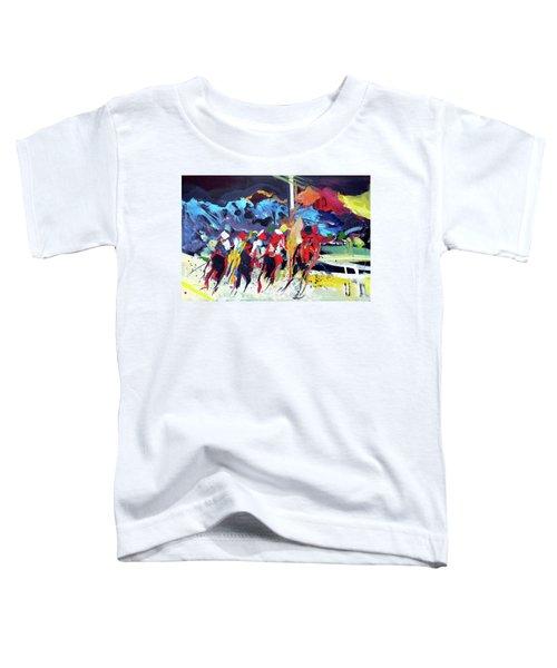 Kentucky Derby Day Toddler T-Shirt