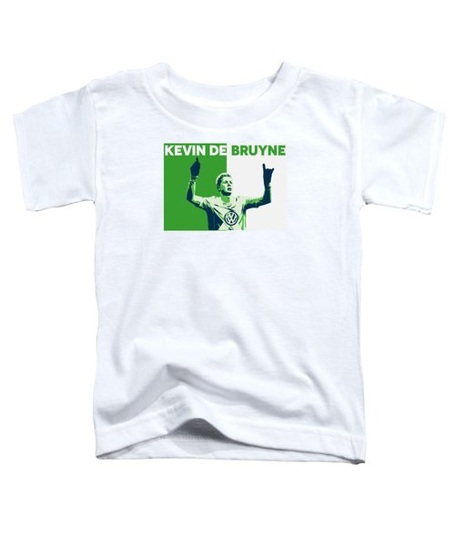 Kevin De Bruyne Toddler T-Shirt by Semih Yurdabak