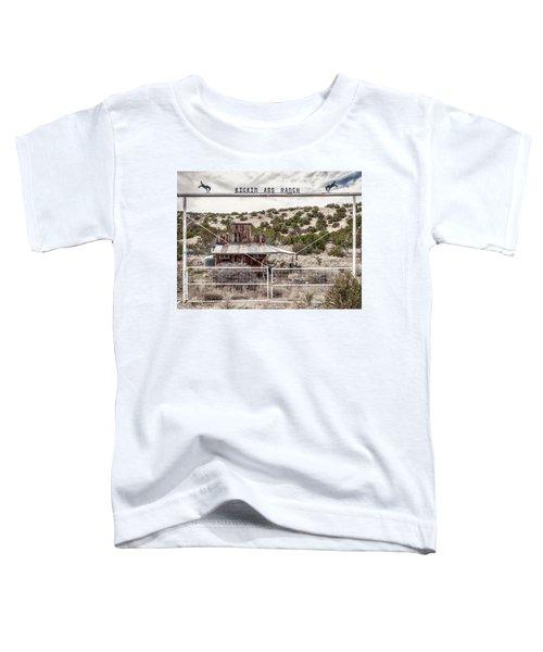 Kickin Ass Ranch Toddler T-Shirt