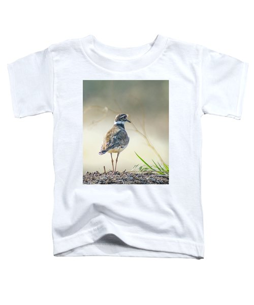 Killdeer -charadrius Vociferus Toddler T-Shirt