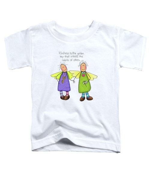 Kindness Toddler T-Shirt by Sarah Batalka