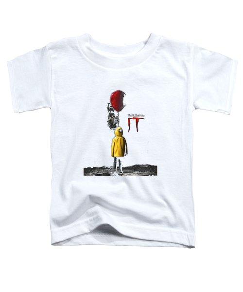 King Stephen, Pennywise, Toddler T-Shirt