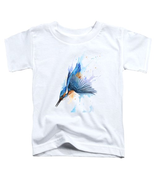 Kingfisher Diving Toddler T-Shirt