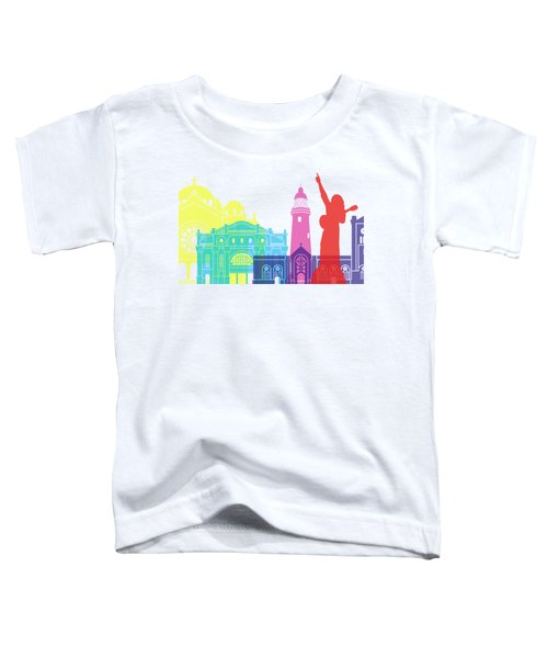 Kingston Skyline Pop Toddler T-Shirt