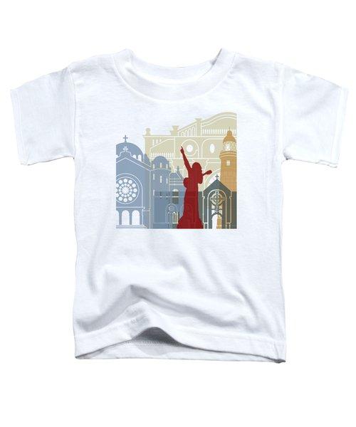 Kingston Skyline Poster Toddler T-Shirt