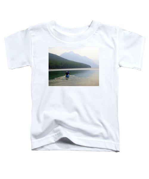 Kintla Lake Paddlers Toddler T-Shirt