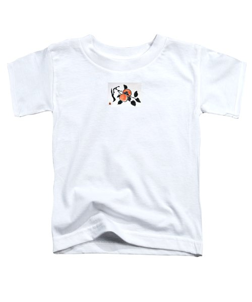 Kissing Persimmons Toddler T-Shirt