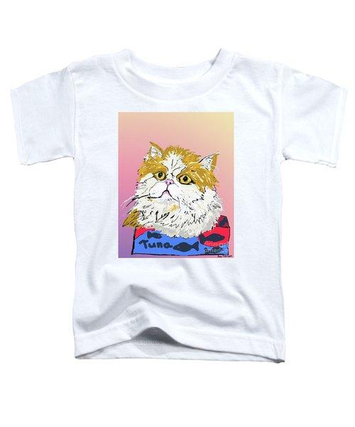 Kitty In Tuna Can Toddler T-Shirt