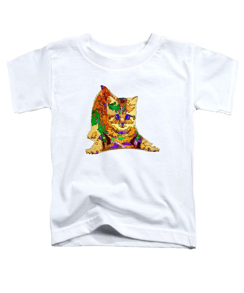 Kitty Love. Pet Series Toddler T-Shirt